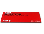 Линейка оптической плотности AGFA Certified DENSTEP